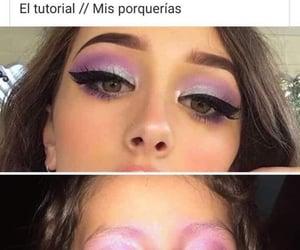 lol, make up, and memes image
