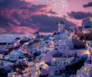 Greece, luxury, and sparkle image