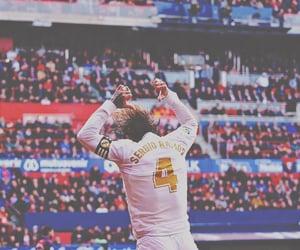 football, sergio, and real madrid image