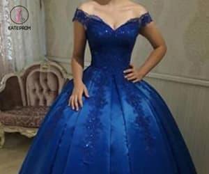 ball gown, long prom dresses, and ball gowns image
