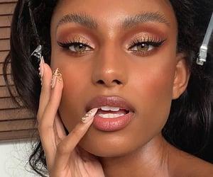aesthetic, beautiful, and brownskin image