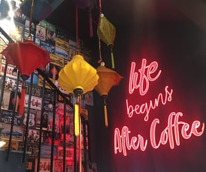 cafe, coffee, and quotes image