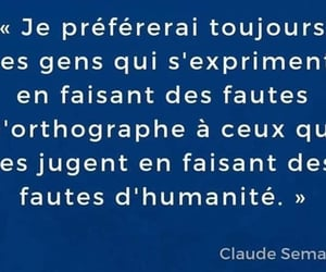 francais, humanite, and orthographe image