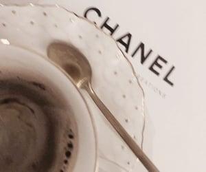 chanel, coffee, and minimalist image
