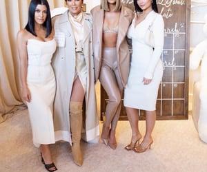 khloe kardashian, kourtney kardashian, and kylie jenner image