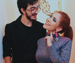 couple, red head, and youtube image