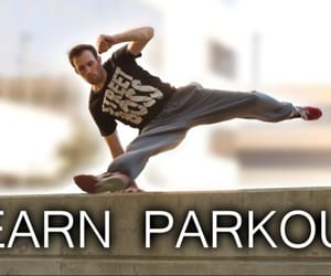 fitness, parkour, and workout image