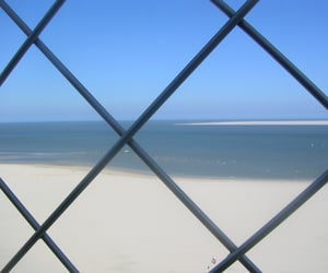 beach, beauty, and sky image