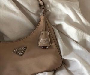 Prada, brown, and fashion image