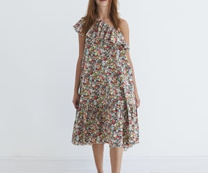 floral dress and liberty london image