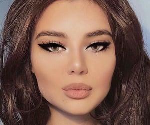 girl, beauty, and eyeliner image