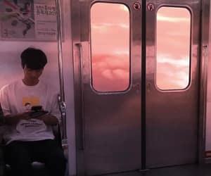 metro and sunset image