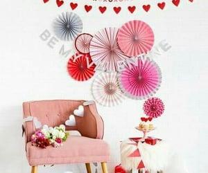 decor, romantic, and Valentine's Day image