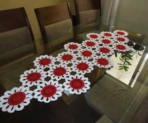 crochet, decoration, and home decor image