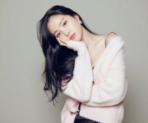 hayoung, naeun, and girlfriend material image
