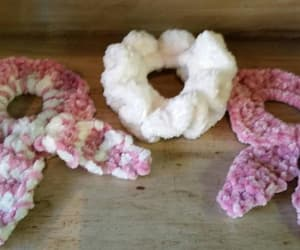 crochet, hair accessories, and etsy image