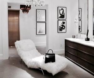 canape, interior, and sofa image