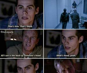tw, stiles stilinski, and linden ashbey image