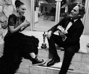 joaquin phoenix, oscar, and rooney mara image