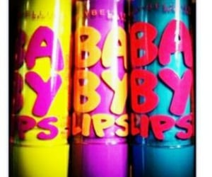 Maybelline, lippies, and babylips image