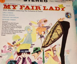 musical, my fair lady, and record image