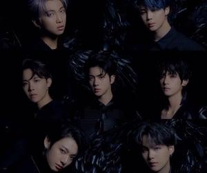 7, dark, and bangtansonyeondan image