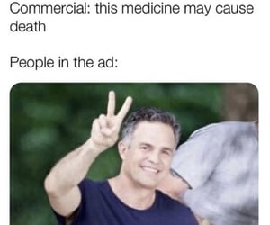 ad, commercial, and death image
