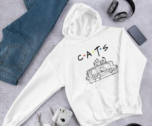 etsy, cute cats hoodie, and animals hoodie image