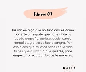 frases, quote, and febrero image