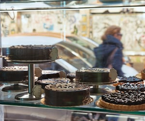 analog, cake, and food image