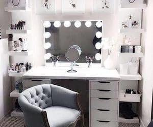home, makeup, and room image