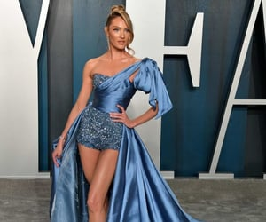 2020, blue dress, and supermodel image