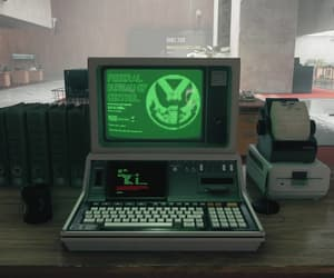 computer, tech, and control image