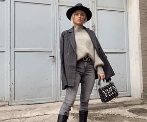 blazer, fall, and luxury image