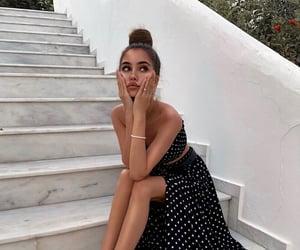 beautiful, dress, and fashion girl image