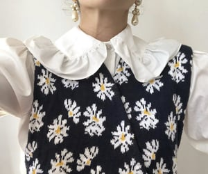 collar, daisy, and inspo image