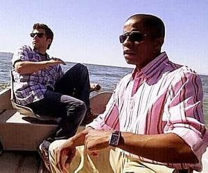 psych, gus, and james roday image