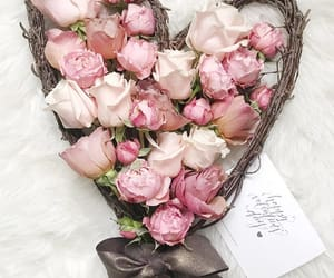 flowers, fashion, and heart image