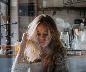 aesthetic, bangle, and coffee shop image
