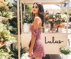 flower dress, flowers, and pretty image