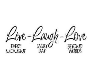 day, laugh, and words image