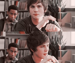 logan lerman, the lighting thief, and percy jackson image