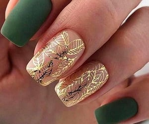 fashion, style, and nailart image
