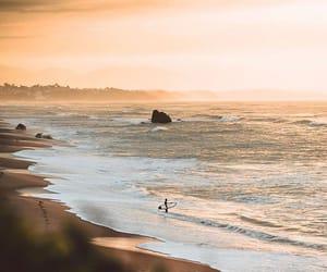 beach, board, and boy image