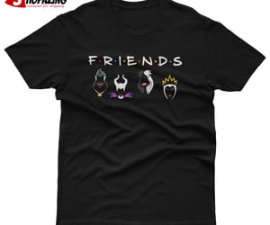villain friends t shirt image