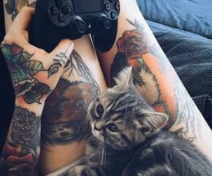 aesthetic, garotas, and tatuagem image