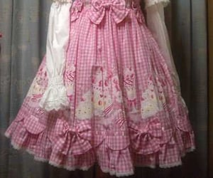 angelic pretty, dress, and gingham image