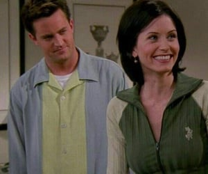 90s, chandler bing, and series image