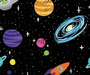 wallpaper, galaxy, and space image