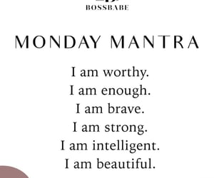 beautiful, brave, and Mantra image